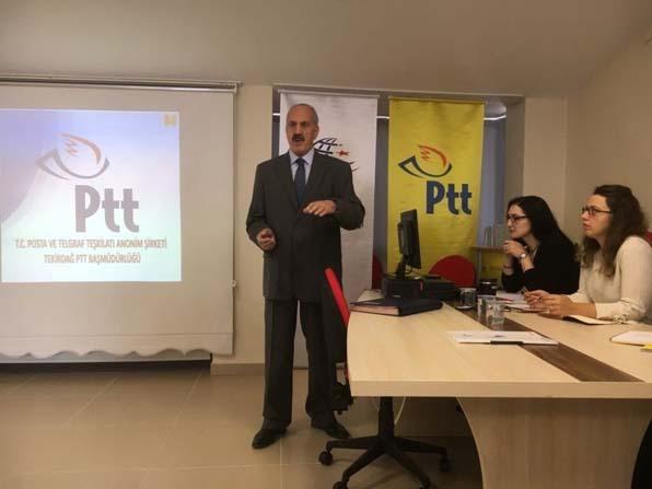 """PTT'de """"Kalite Yönetim Sistemi"""" toplantısı yapıldı"""