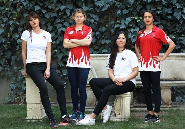 Hem kadının hem sporun gururu oldular