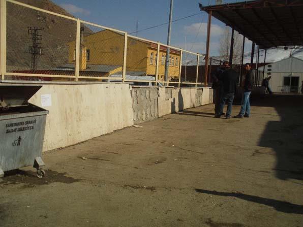 Kapıköy Sınır Kapısında çevre düzenlemesi