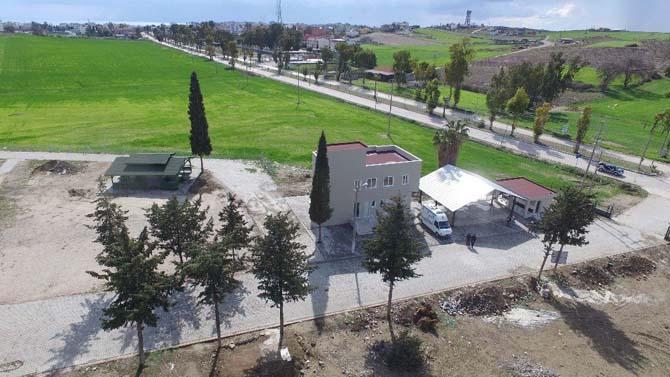 Büyükşehir'den Karataş'a mezarlık kompleksi