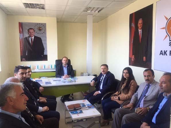 Özbek'ten referandum çalışması
