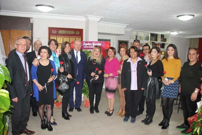 Kadın gazeteciler 8 Mart'ta ÇGC'de buluştu