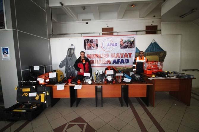 Vali Işın'a Deprem Haftası ziyareti