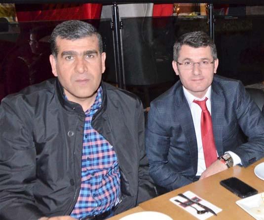 Gaziantepsporlu yönetici ve futbolcular moral yemeğinde buluştu.