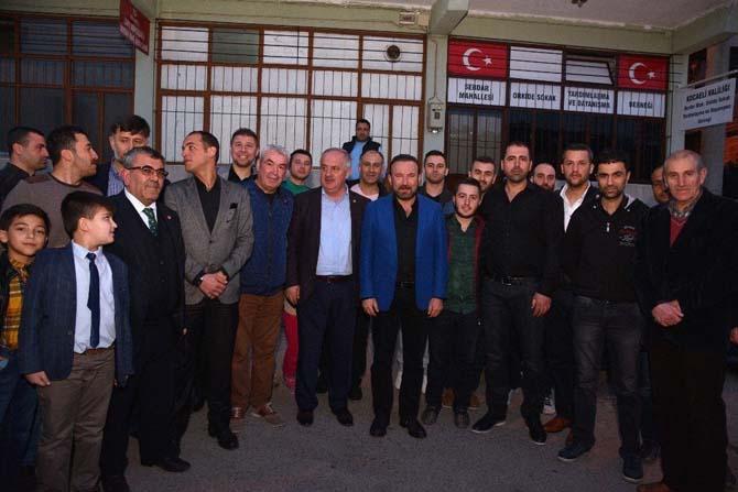 Başkan Doğan, referandum öncesinde yeni sistemi vatandaşlara anlattı