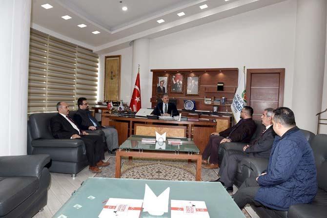 Kızılay Malatya Şubesinden Başkan Çakır'a ziyaret