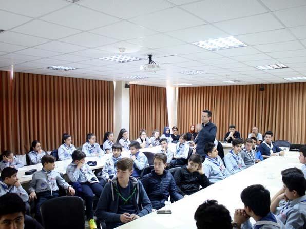 İzcilik branşı öğrencilerine eğitim semineri