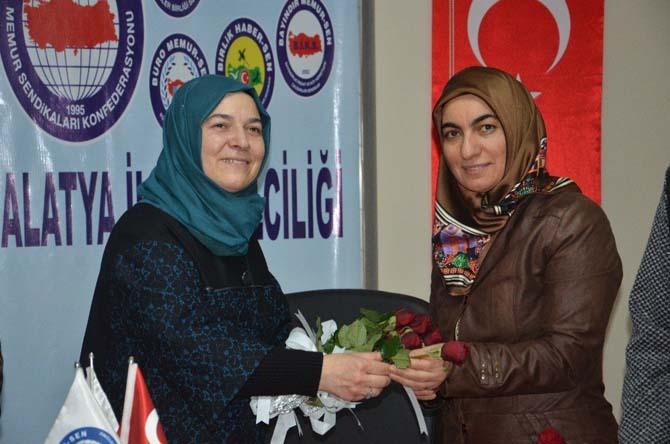 Memur-Sen Malatya Kadın Kolları Başkanı Nurhan Bilici: