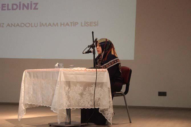 Öğrenciler Kur'an-ı Kerim'i güzel okumak için yarıştı