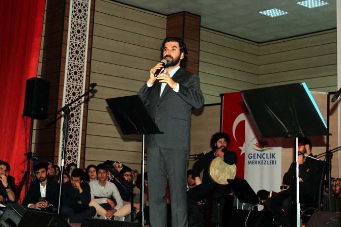 """Erzincan'da """"Şiirlerle Osmanlı Programı"""" düzenlendi"""