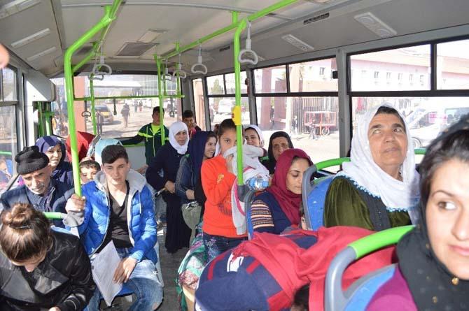 Şırnak Belediyesinden kadınlara ücretsiz ulaşım