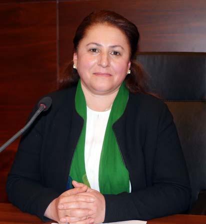 Büyükşehir Belediye Meclisi'ni Kadınlar Günü'nde kadın başkan yönetti