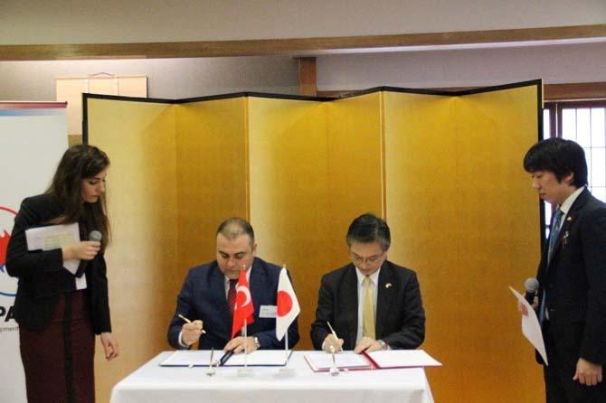 Görele Belediyesi ile Japonya Büyükelçiliği arasında imzalar atıldı