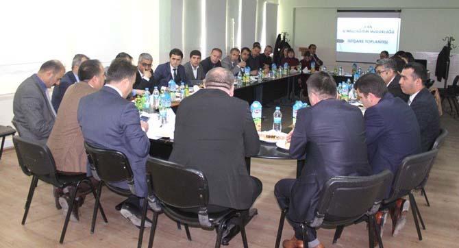 Gürpınar'da 'Eğitim İstişare' toplantısı