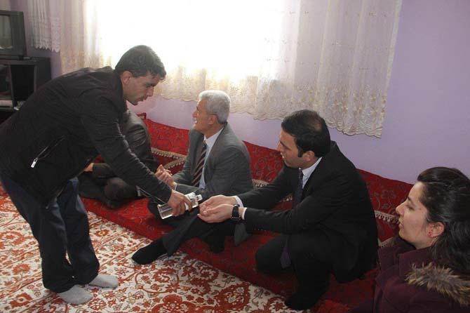 Kaymakam Öztürk'ten engelli aileye ziyaret