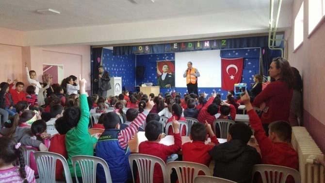 Deprem haftası eğitimleri sona erdi