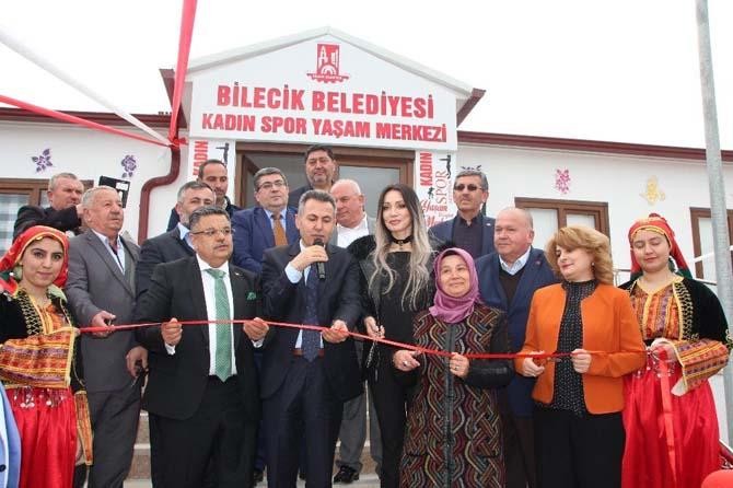 Beşiktaş Mahallesi Kadın Spor ve Yaşam Merkezi hizmete girdi