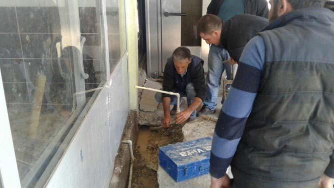 ASKİM ekipleri deprem bölgesindeki çalışmalarını sürdürüyor