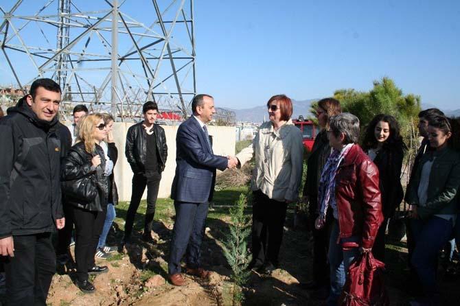 Kıbrıs'ta yapılan uluslararası kongrenin karbon ayak izini Aydın'da Sıfırlandı