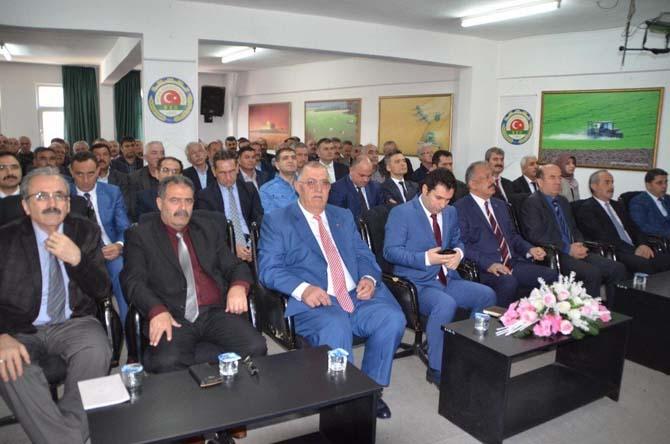 Bafra'da güvenlik toplantısı yapıldı