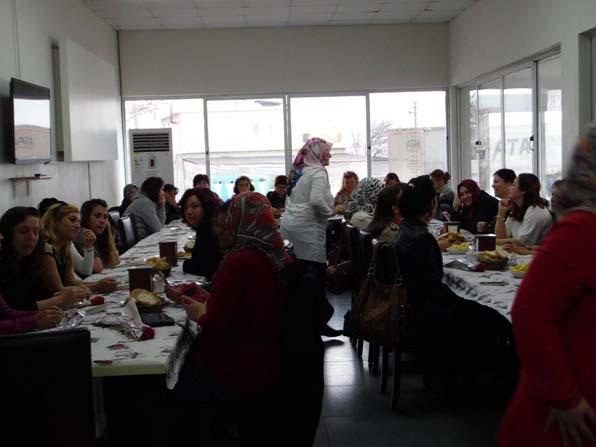 Lapseki'de kadınlar günü etkinlikleri