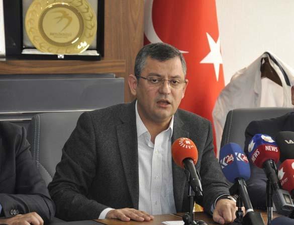 CHP Grup Başkan Vekili Özgür Özel: