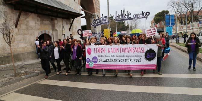 Kadınlar Günü'nde seslerini duyurdu