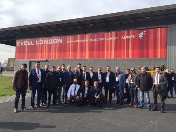 GTO'dan Londra - Ecobuild yapı fuarına çıkarma