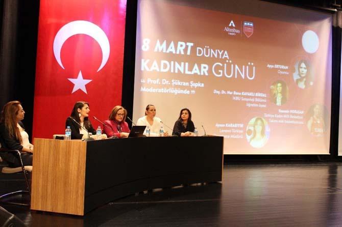 """İKBU Rektör Yardımcısı Prof. Dr. Şıpka: """"8 Mart Dünya Emekçi Kadınlar Günü, kutlamalar yapılacak bir gün değil"""""""