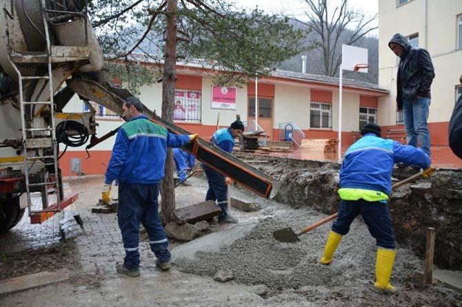 Kartepe'de beton parke ihalesi açıldı
