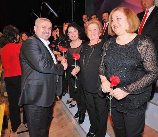 Körfez'de kadınlara özel konser
