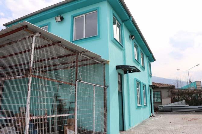 MASKİ'ye ek hizmet binası