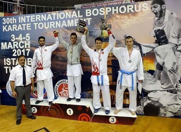 Tekirdağlı karatecilerden şampiyonluk başarısı