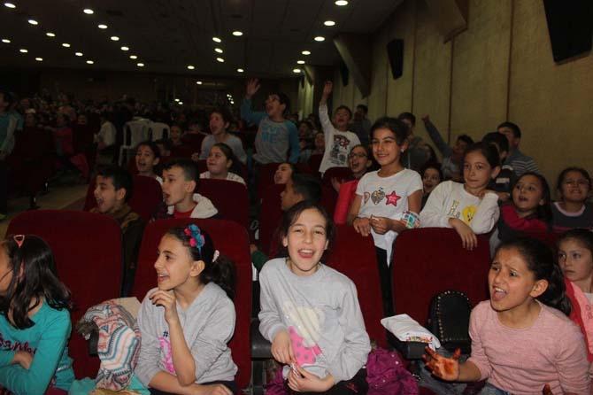 Çocuklar 'olimpik spor kültürü' ile tanıştı