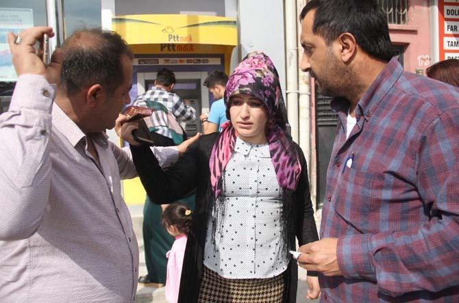 Kulağındaki küpeyi sahte polise kaptıran kadının gözyaşları