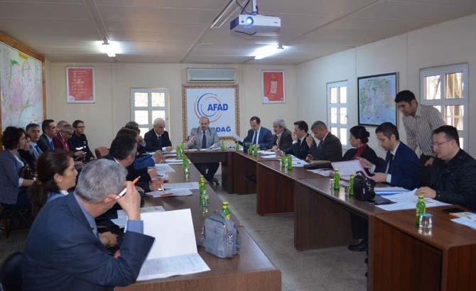 AFAD koordinasyon toplantısı