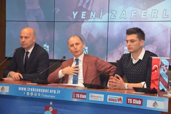 Trabzonspor'da Okay Yokuşlu 3 yıllık imzayı attı