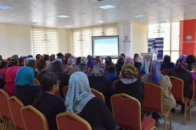 Kocasinan'da kadınlar geleceğe daha sağlıklı bakıyor
