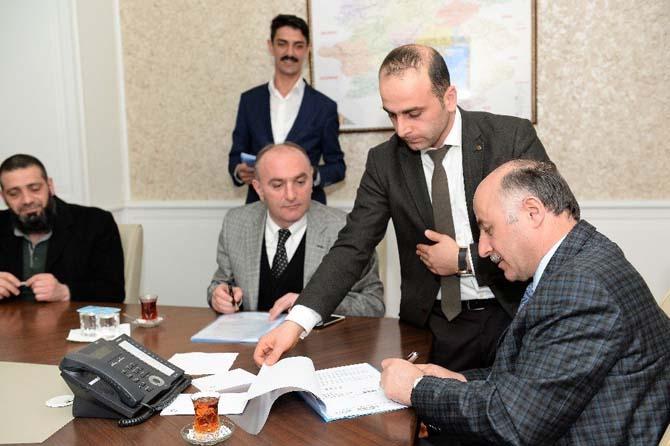 2. OSB'de ilk tahsis sözleşmeleri imzalandı