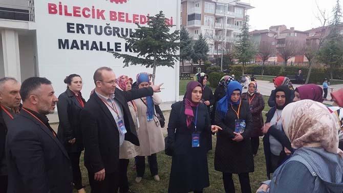 AK Parti Bilecik Merkez İlçe Başkanlığı 'Evet' için gece gündüz çalışıyor
