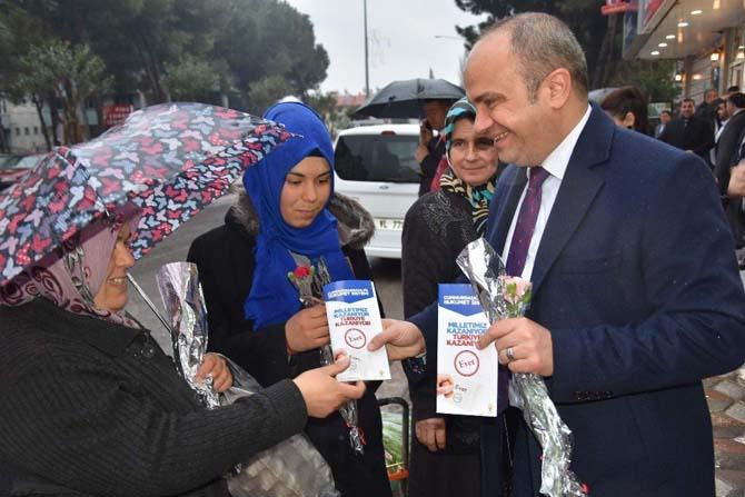 AK Partili Mersinli referandum çalışmalarına hız verdi