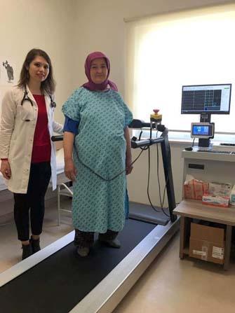 Elmalı Devlet Hastanesi'nde Eforlu EKG Cihazı hizmete girdi