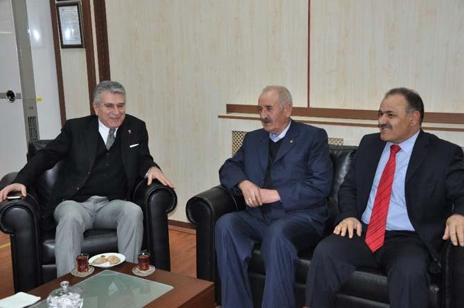 ÇSGB Müsteşar Yardımcısı Ayrım ETB'yi ziyaret etti
