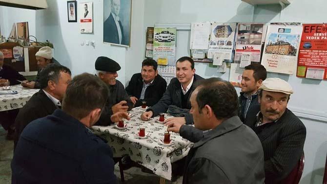 Lapseki AK Parti İlçe Teşkilatı referandum çalışmaları