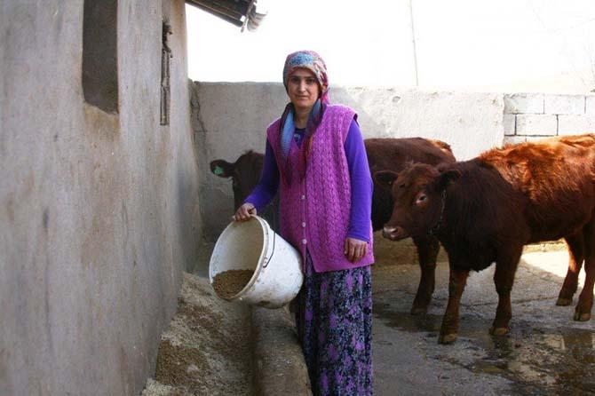 """""""Genç Çiftçi"""" projesi hayatlarını değiştirdi"""
