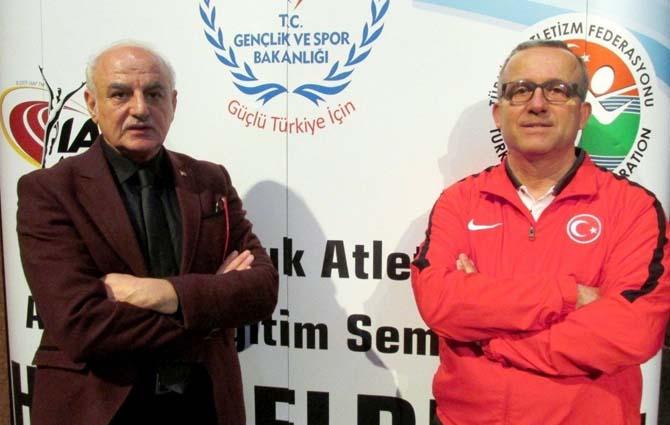 GAÜN'de IAAF Uluslararası Atletizm Çocuk Semineri başladı