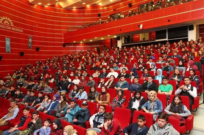 Gebzeli öğrencilere TEOG semineri verildi