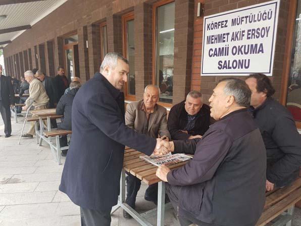 Başkan Baran, referandumla ilgili vatandaşlarla sohbet etti