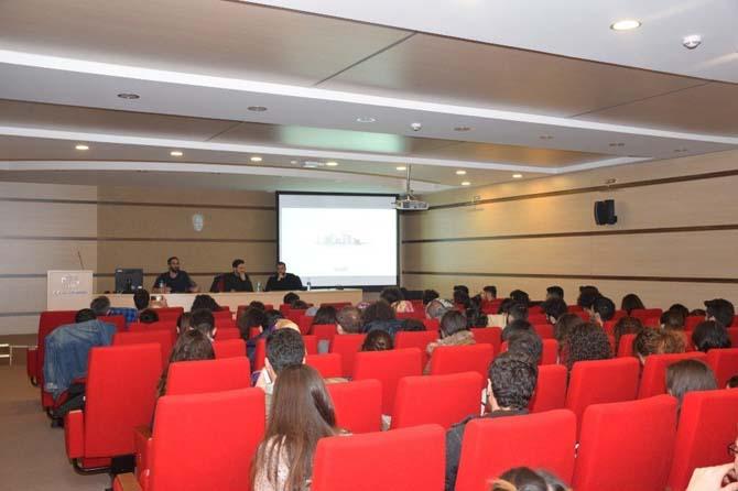 Mimarlık ve Tasarım Fakültesi'nden ''Yarışma Yoluyla Mimarlık'' semineri