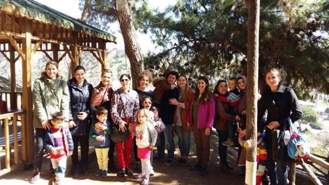 Nazilli'de kreş öğrencileri ve belilerle buluştu